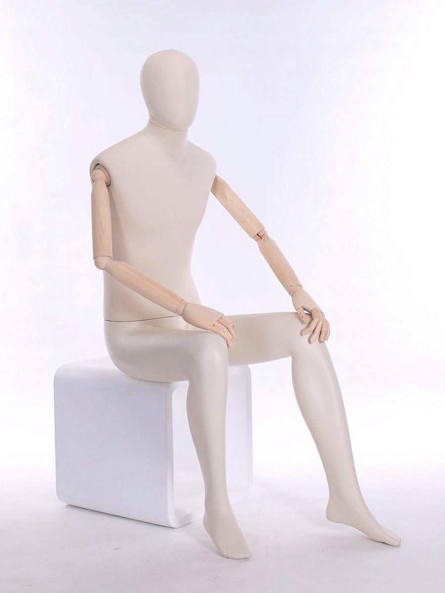 Meta Male Abstract Head Sitting