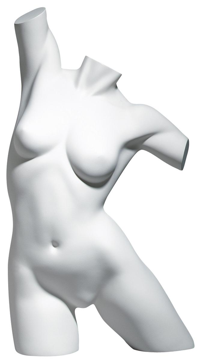 Premium Torso Female White Stretch Position